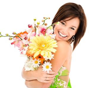 Цветы всегда дарят только положительные эмоции