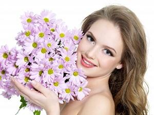 Букет хризантем будет долго радовать своей свежестью и жизнерадостной красотой
