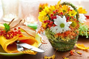 Букет цветов украсит любое застолье