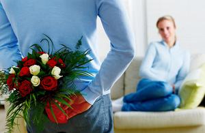 Букет цветов – замечательный сюрприз для любимой