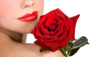 Красная роза – символ страстной любви
