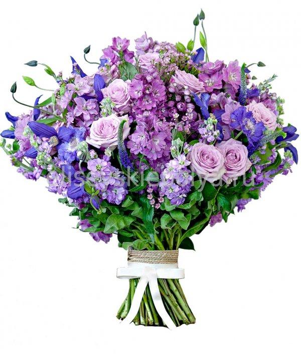 Букет цветов сиреневых