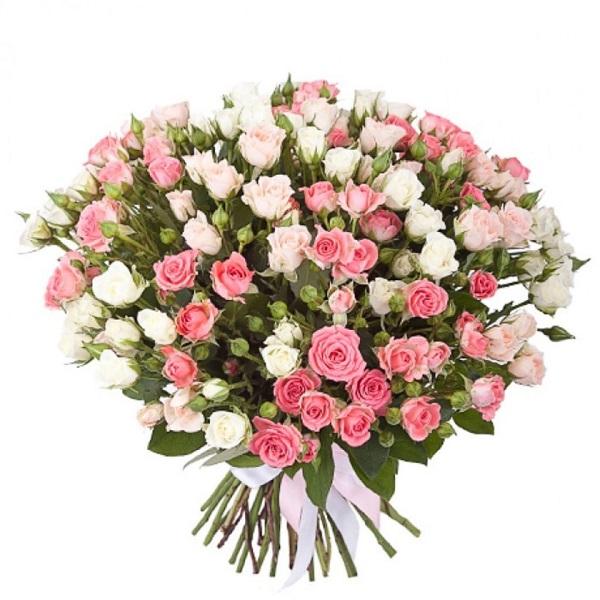 Букет фото кустовая роза