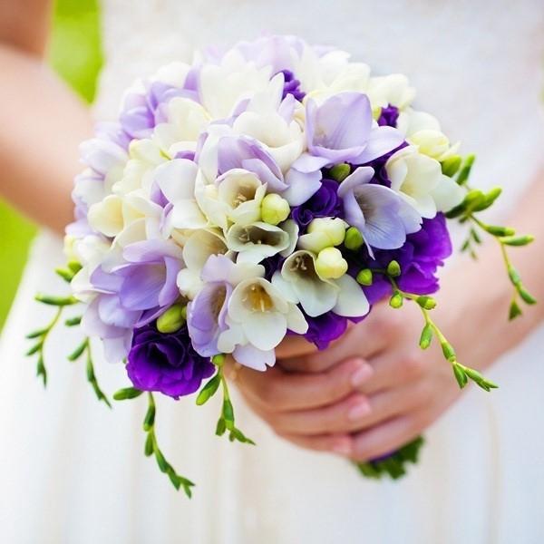 Фиолетовый букет на свадьбу фото купить самоцветы kings empire