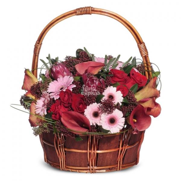 Цветов букеты корзина невесты канзаши
