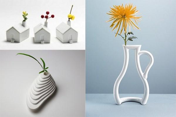 Оригинальные вазы для цветов  изюминка вашего интерьера - статьи о ... 738d1f2b995