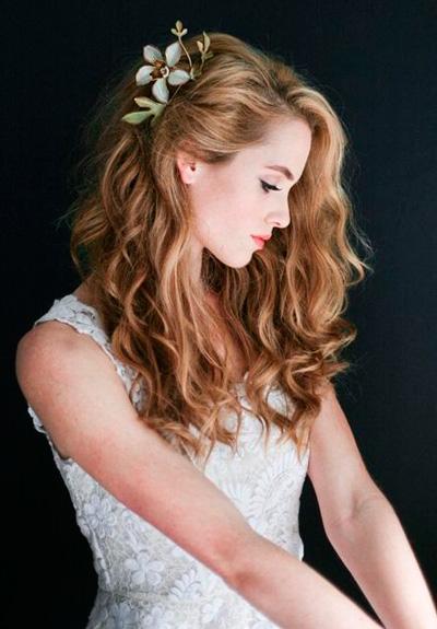 Как подготовить живые цветы для свадебной прически доставка цветов каллы петербург