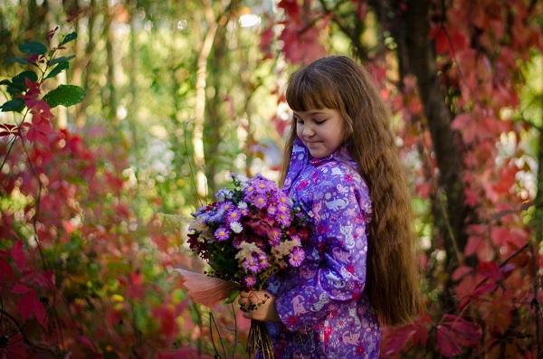 Осенний букет – роскошь красок