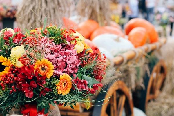 Осенний букет – прощание с летом